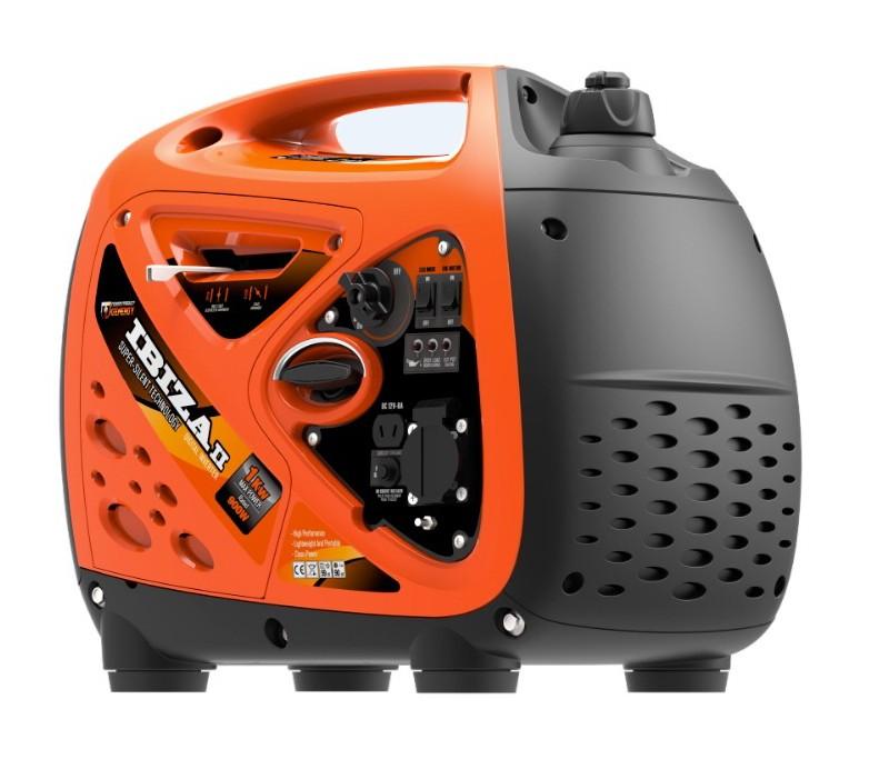 POWER: 1.000/900 W, motor gasolina GENERGY 4T, INSONORO, refrigeración por aire, protección de aceite.