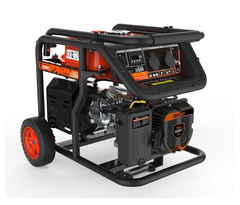 GENERGY ESTRELA, POWER: 3.000/2.800 W, motor gasolina GENERGY O.H.V. 4T,