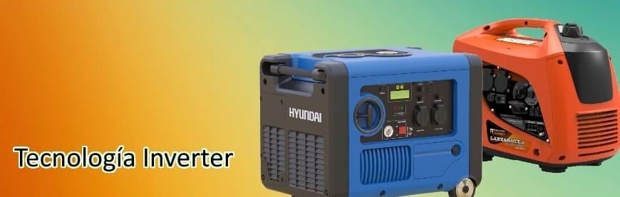 Generadores Inverter 4 tiempos al mejor precio - Silenciosos, pequeños