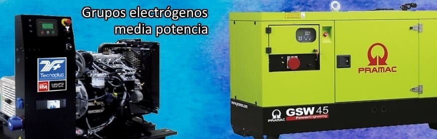 ▷ +200 Grupos Electrógenos de media potencia directos fábrica