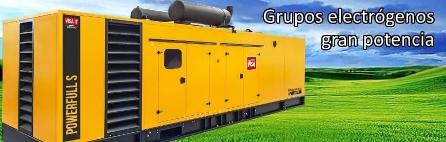 ▷ +300 Grupos Electrógenos de gran potencia al mejor precio