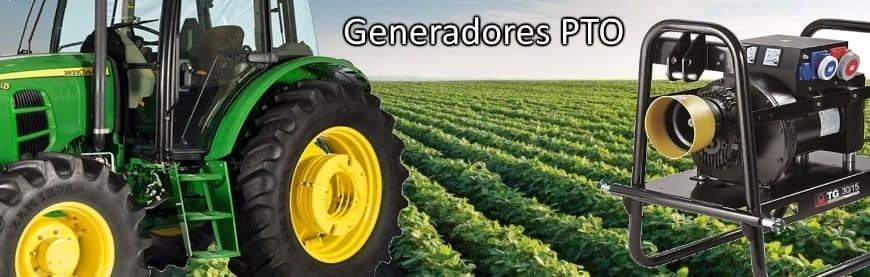 ▷ Generadores Eléctricos PTO Toma de fuerza tractor al mejor precio